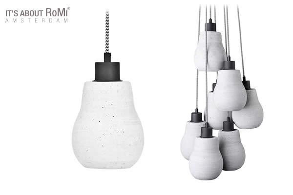 Cadiz pendant lights, made of polystone