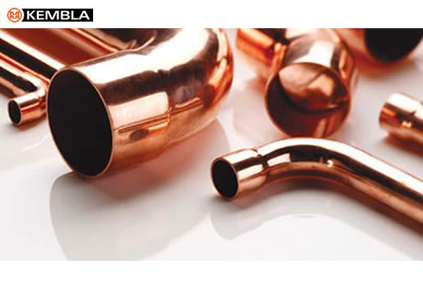 Kembla copper tubes and press-fit fittings EN1057 standard