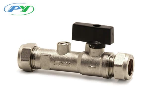 Combined Double Check Valve & Isolating Valve DZR Metal Copper x copper