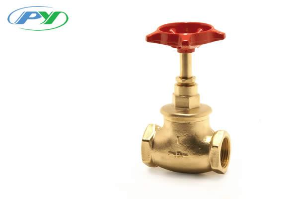Brass Stopvalve (BS 1010) Iron wheel Female iron x female iron